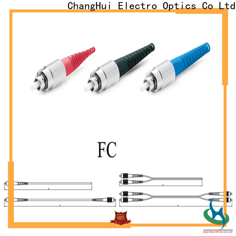 ChangHui Wholesale fiber optik patch cord factory