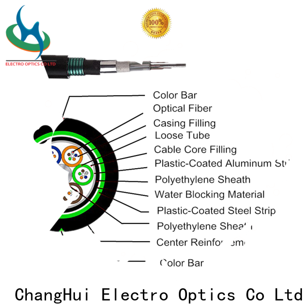 ChangHui hybrid fiber optic cable optics military
