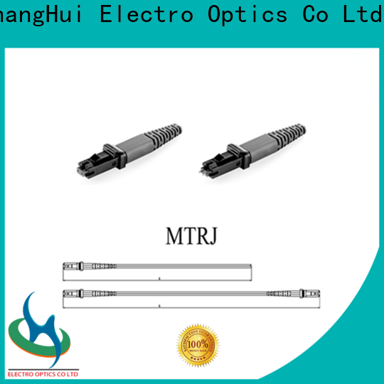 ChangHui fiber jumpers factory industrial imaging