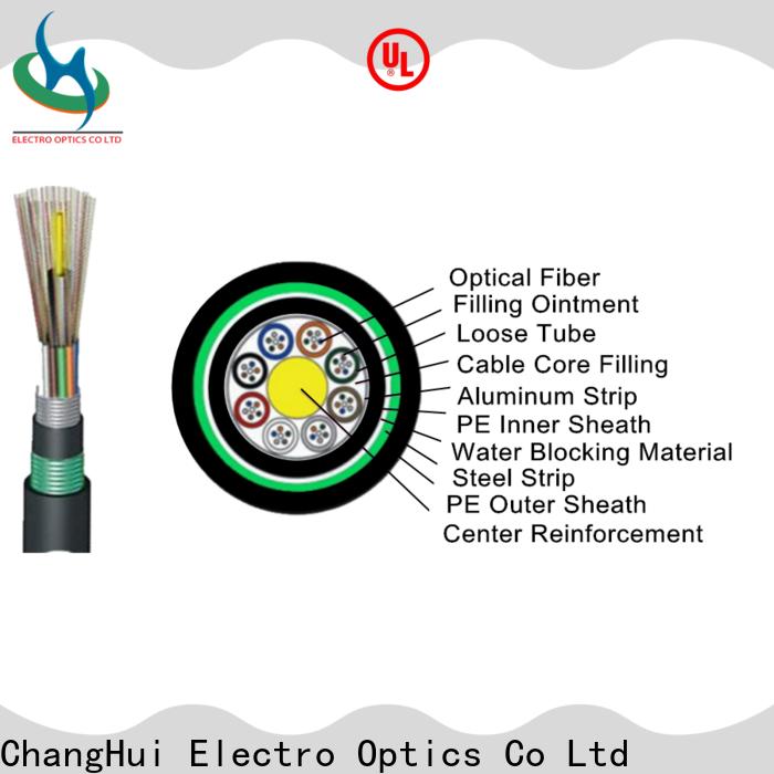 long fiber optic cable