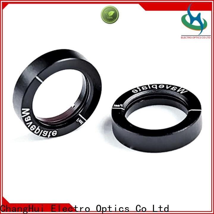 fiber optic lens