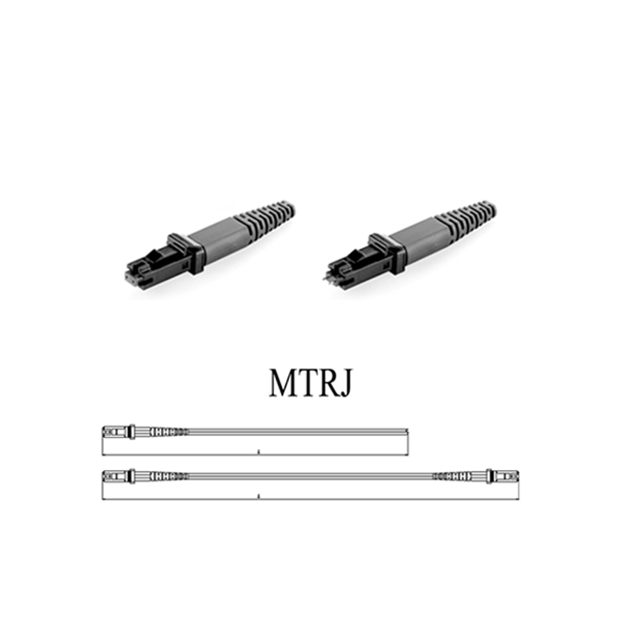 Optical Components CHFiber-High Quality MTRJ Type Patch Cord-1906 Custom / Standard