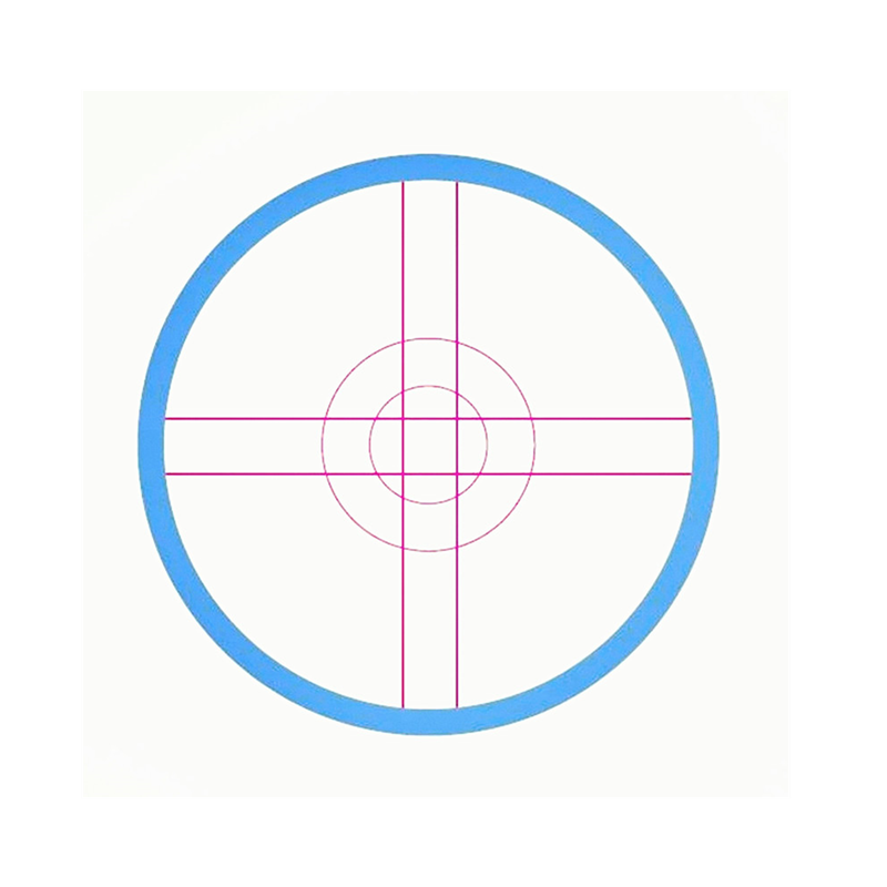 precision reticle & reticle