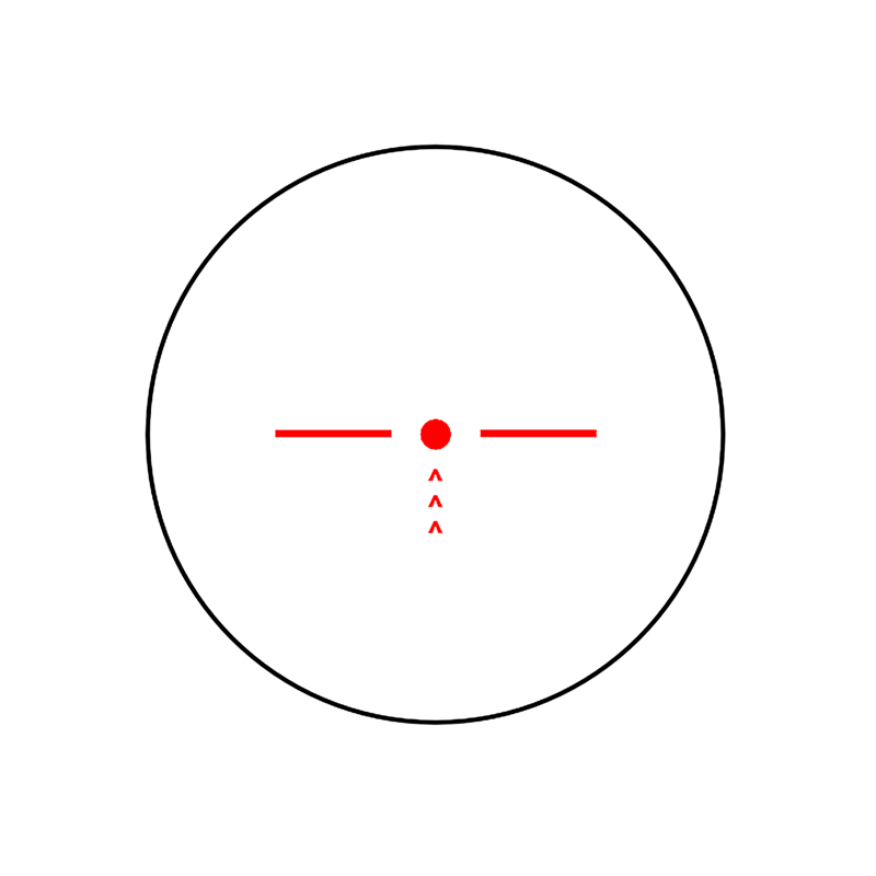 RCH-1217  Tactical Scope Custom Microscope Reticles Red Illuminated