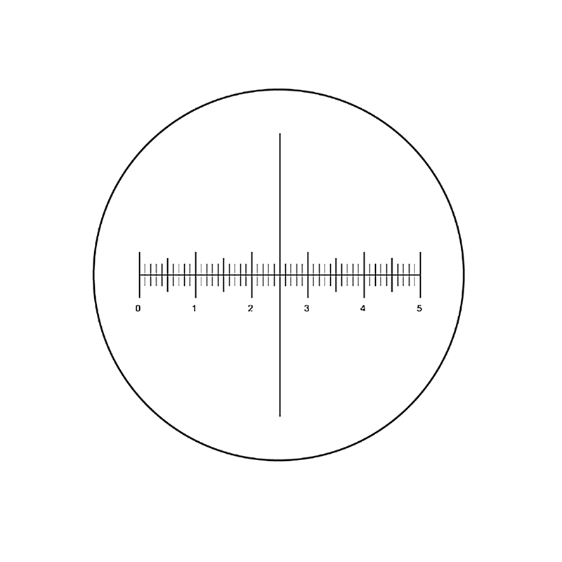 RCH-1220  Micrometer Reticle For Goniometer Crosshair Scale