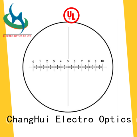 ChangHui eyepiece custom microscope reticles optics goniometers