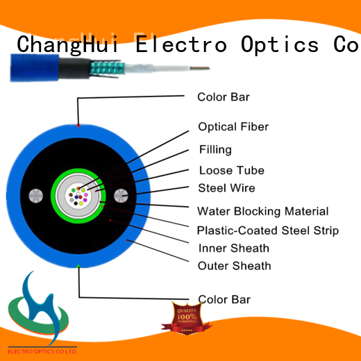 ChangHui outdoor indoor fiber optic cable panel optical transmission
