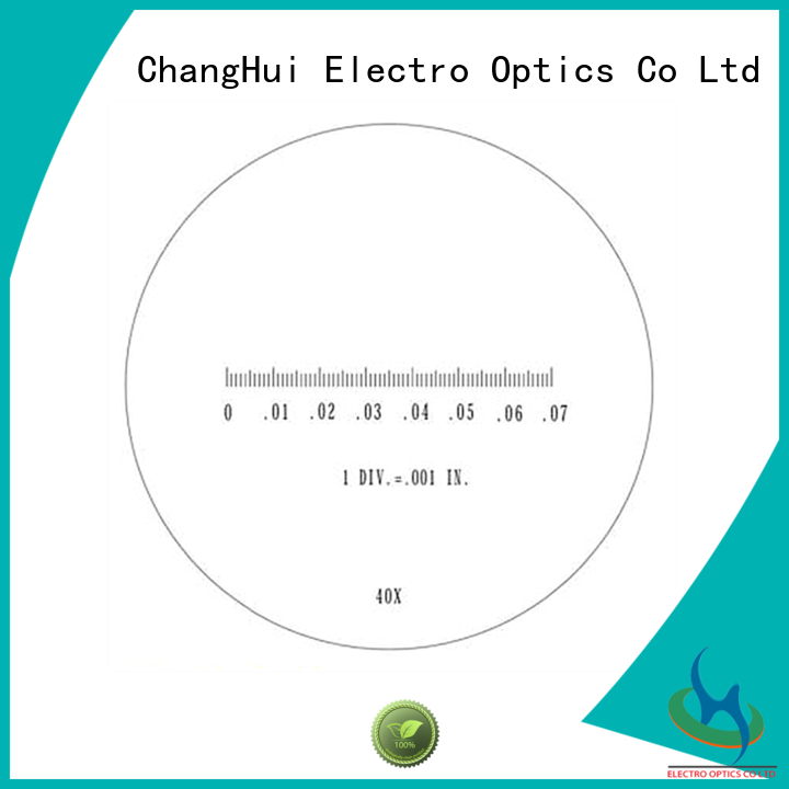 ChangHui custom microscope reticles products goniometers