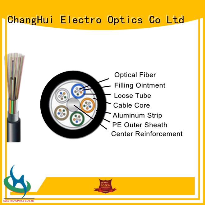 ChangHui duplex fiber optic cable cables military