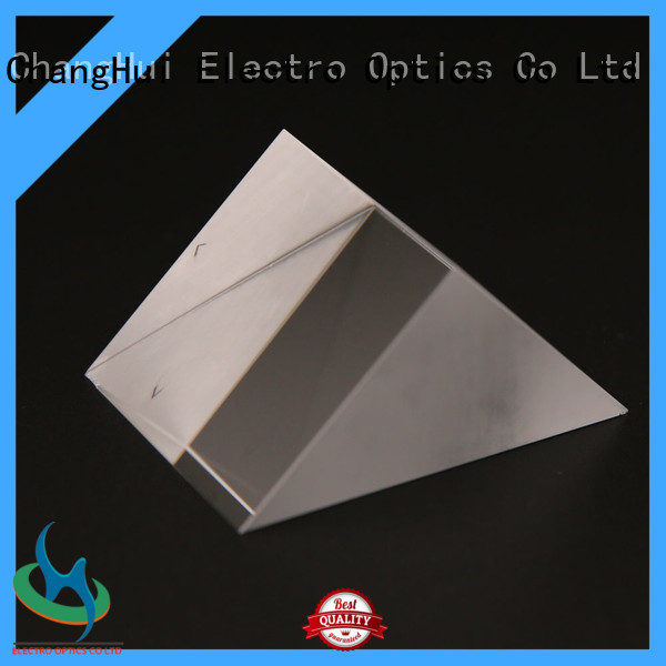 optical cube-corner prism plate ray deviation